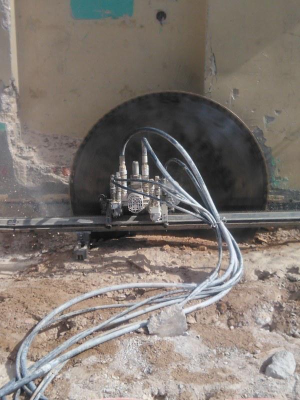 Dijamantno rezanje armiranog betona - IVAS REZ